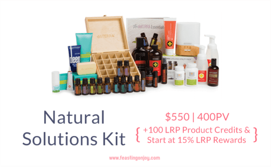 Buy doTERRA Essential Oils Natural Solutions Kit | FeastingOnJoy Oils