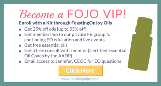 Become a FOJO VIP | FeastingOnJoy Oils