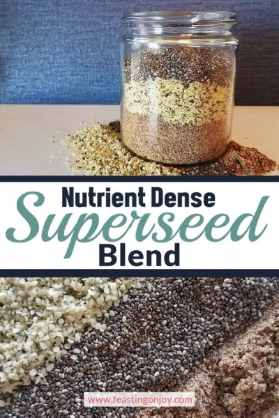 Nutrient Dense Superseed Blend | Feasting On Joy