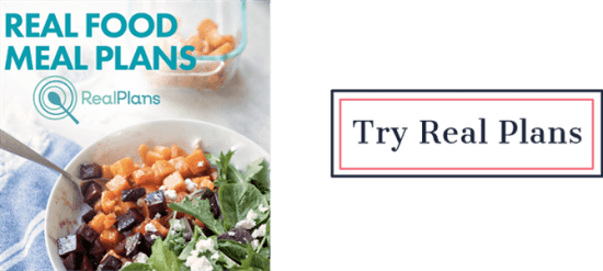 Try Real Plans Meal Planning | Feasting On Joy