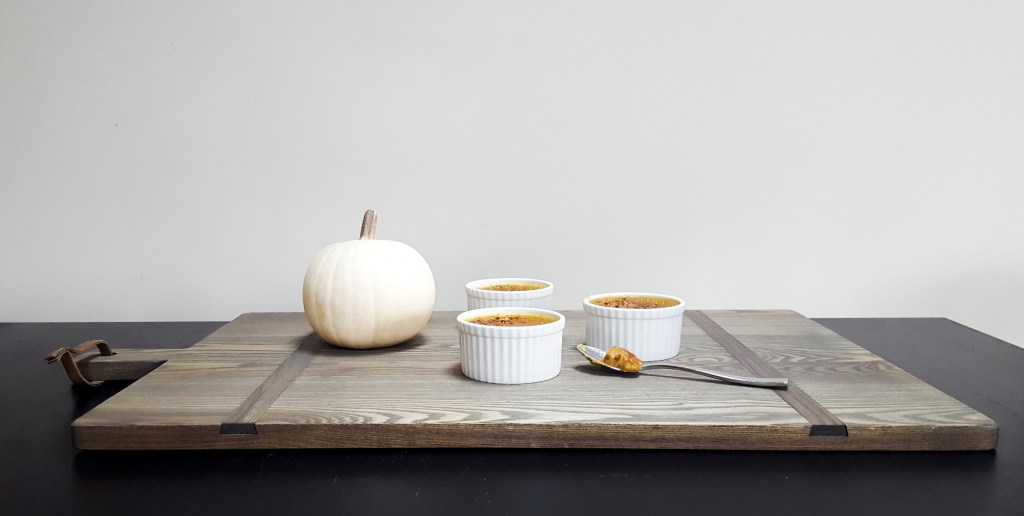 Maple-Bourbon Pumpkin Creme Brulee | Feast In Thyme