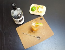 Simple Citrus Cider Cocktail | Feast In Thyme