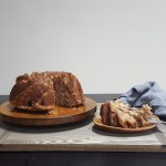 Apple Cider Bundt Cake with Sweet Brandy Glaze | Feast In Thyme