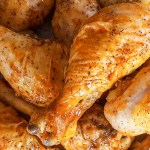 Giant Baked Hot Wings with Homemade Blue Cheese Dressing | Feast In Thyme