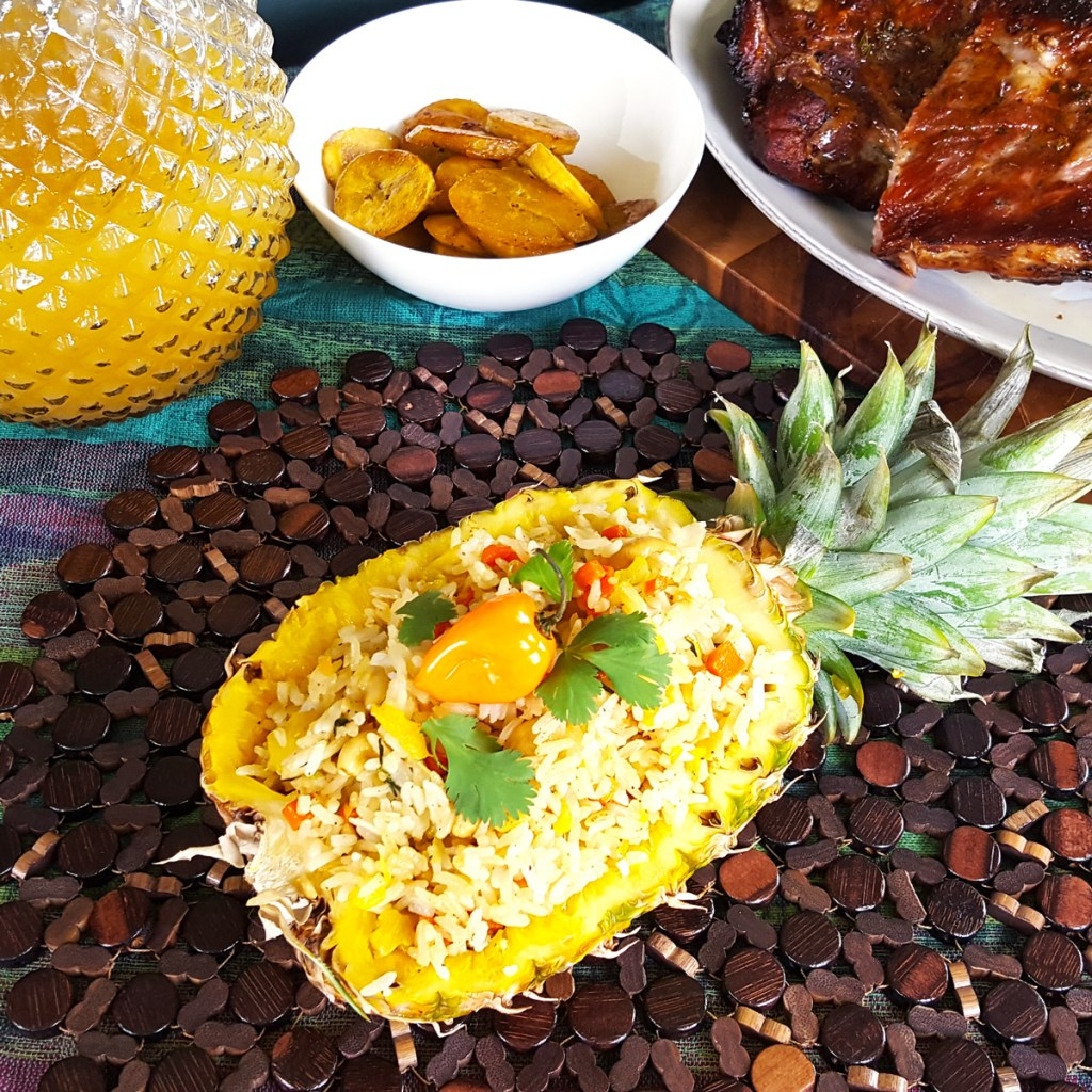 Coconut & Pineapple Fried Rice | Caribbean Fete | Feast In Thyme