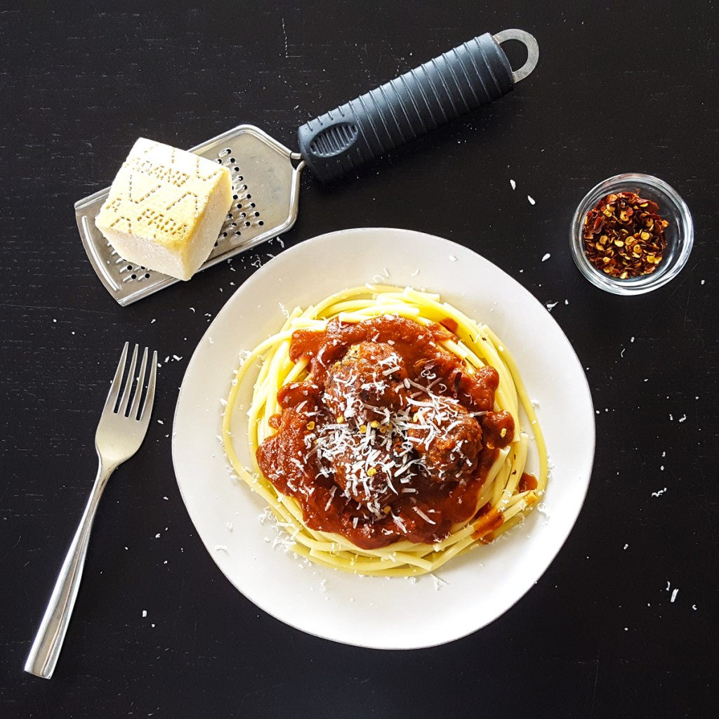 My Favorite Meatballs with Fresh Basil & Parmesan [Gluten Free & Low FODMAP]   Feast In Thyme