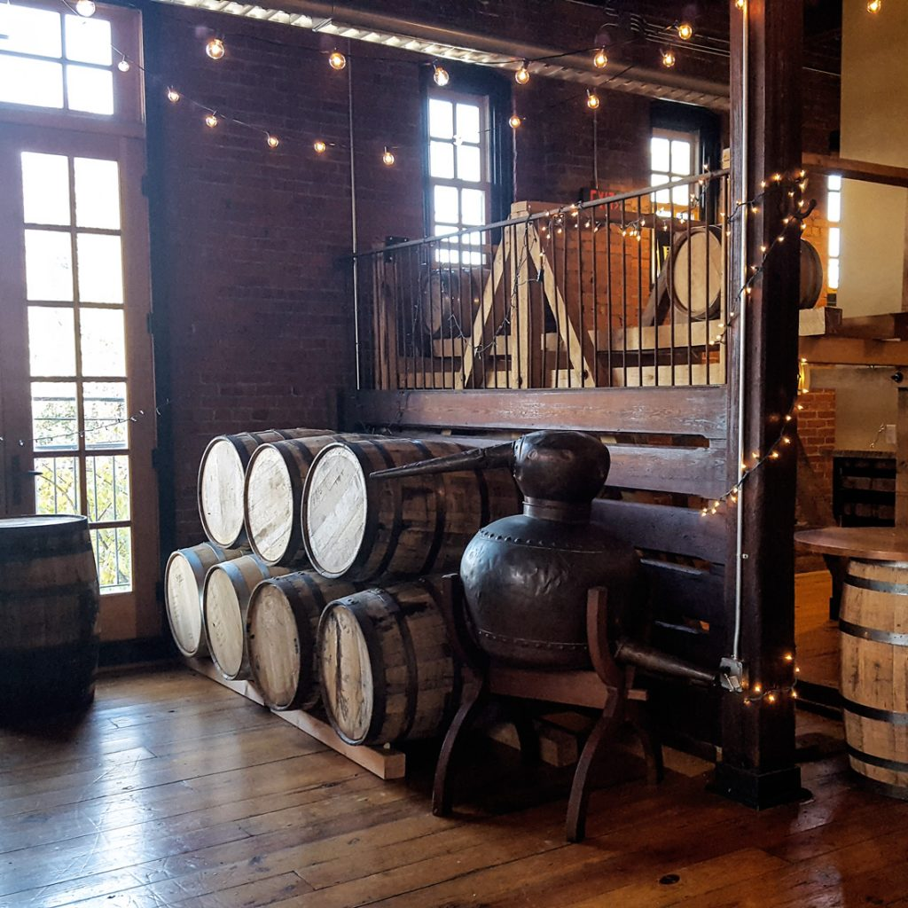 New Liberty Distillery Interior | Thymeline 36 | FeastInThyme.com