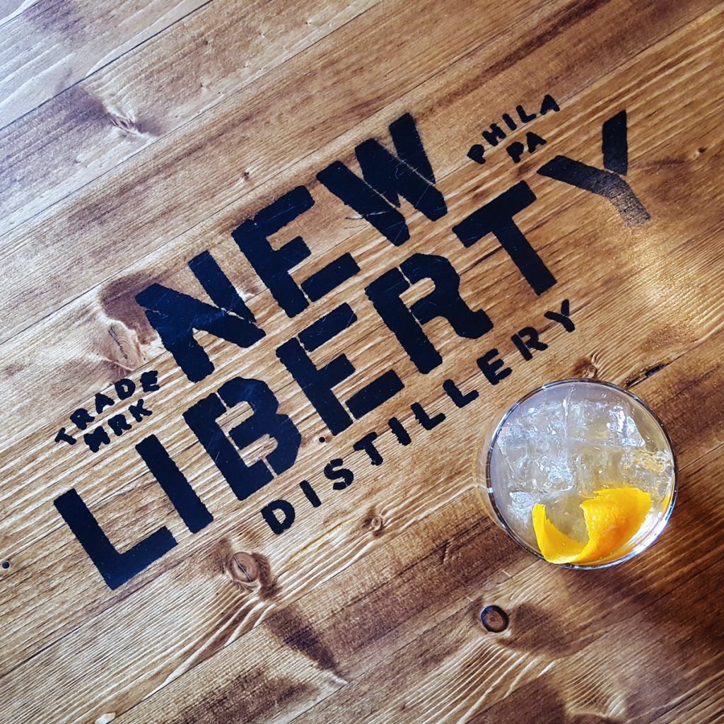 New Liberty Distillery Cocktail | Thymeline 36 | FeastInThyme.com