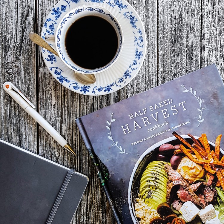 Full of bright, beautiful photography, Tieghan Gerard's first #cookbook - Half Baked Harvest - is an inspiring addition to your kitchen bookshelf full of creative ideas for everyday meals. #halfbakedharvest #HBHcookbook #cookbookreview #review | FeastInThyme.com