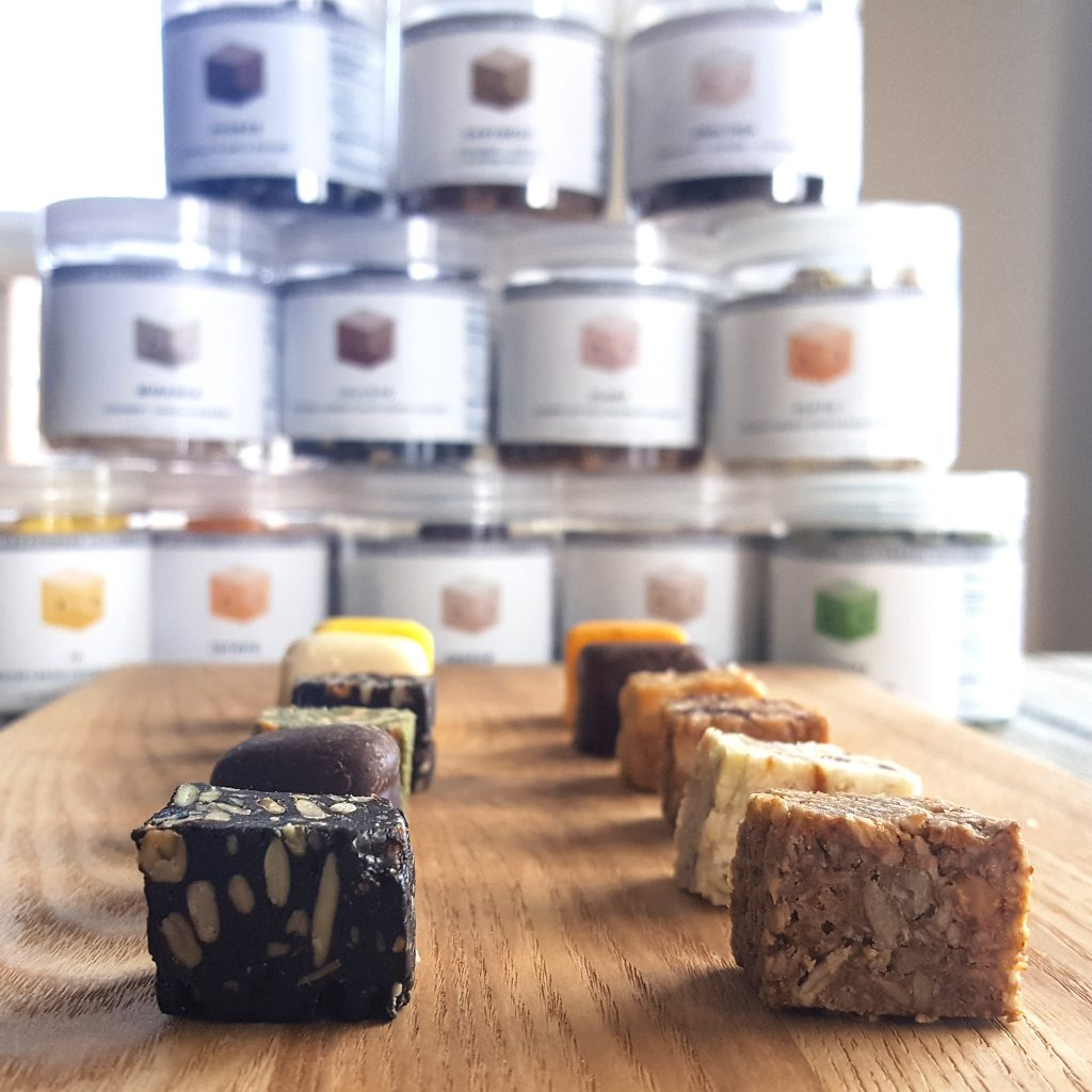 Full of crash-free energy and made with clean ingredients in delicious flavor combinations, MoonBlocks may just be the newest innovation in meal replacements. | A Product Review by FeastInThyme.com