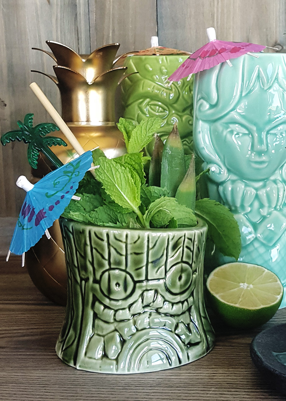 Everything You Need to Build Your Own Home Tiki Bar