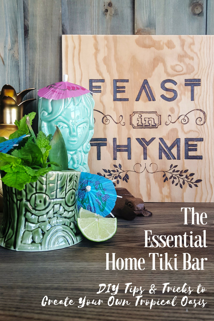 Build a Home Tiki Bar | The Essentials