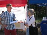 Andrew Hewson & Linda Wendelboe, lamb producer