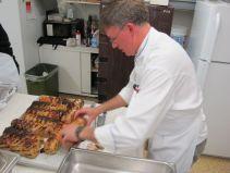 Chef Andrew Hewson