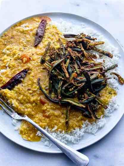 Dal Chawal recipe