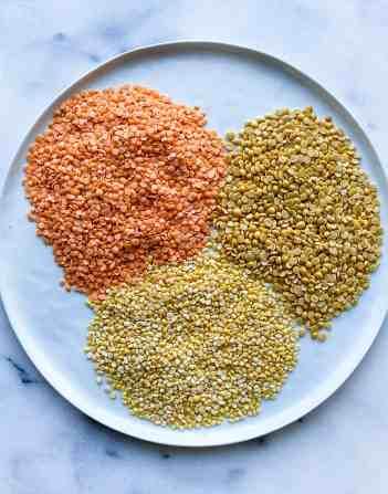 Cook dal. Indian dal lentils.