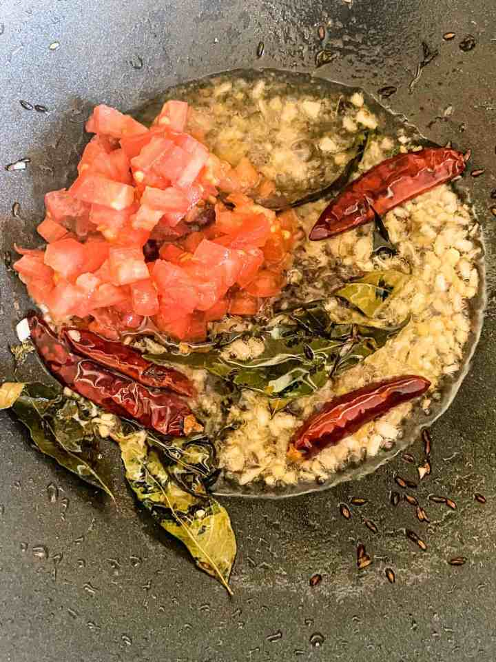 Tadka for Indian recipe.
