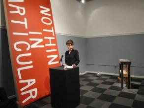 Nicole Trigg with installation by Josh Pieper