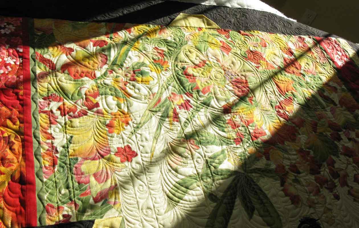 Kimono Quilt Finished