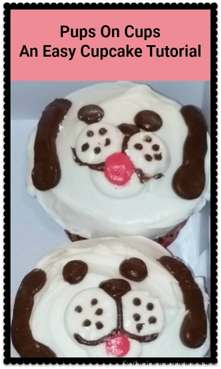 Pups On Cups: An Easy Cupcake Tutorial