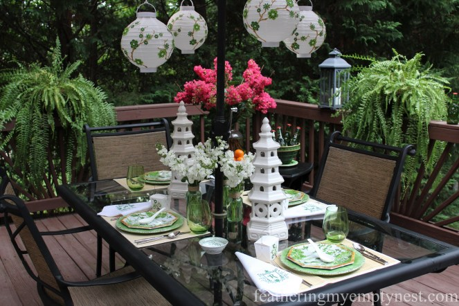 Dim Sum On The Deck: A Chinese Take-out Dinner Party-featheringmyemptynest.com