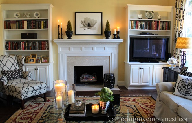 Traditional family room decor --Why My Family Room Decor Is Always A Work In Progress