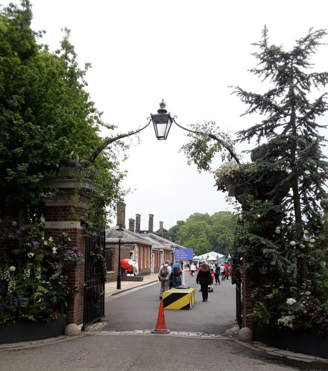London Entrance Gate to The 2018 Chelsea Flower Show --Why The Chelsea Flower Show Should Be On Your Bucket List