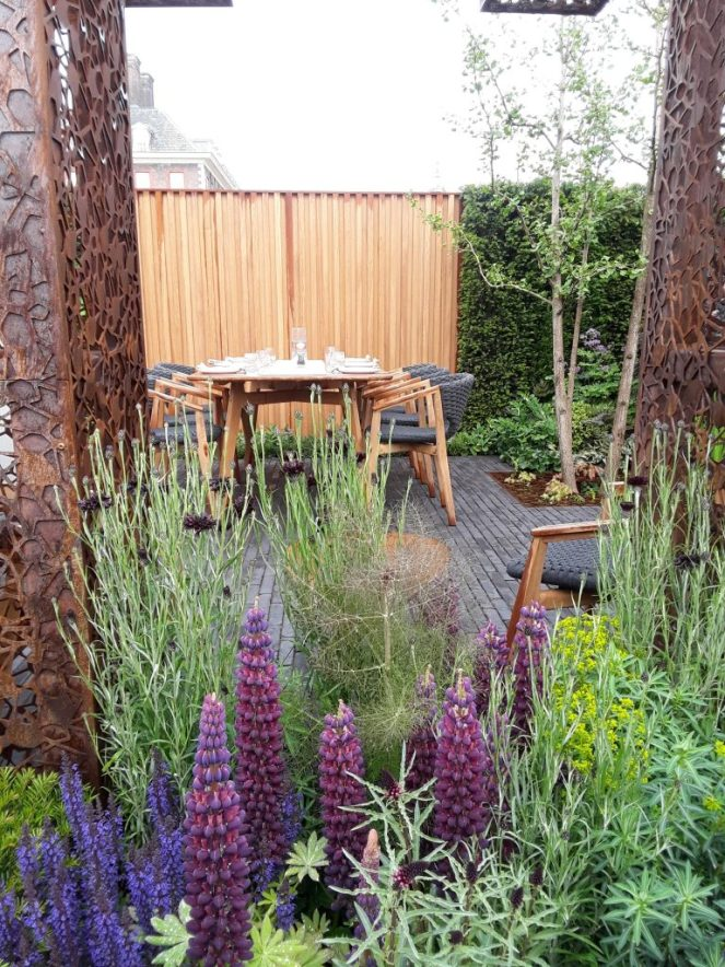 The Urban Flow Garden, 2018 Chelsea Flower Show --Why The Chelsea Flower Show Should Be On Your Bucket List