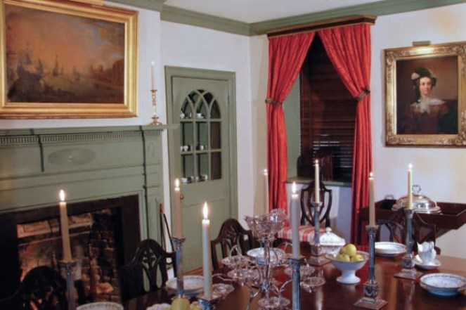 Dining Room --Exploring The Enchanting Gardens Of Middleton Place