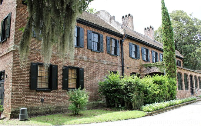 Front facade of museum house --Exploring The Enchanting Gardens Of Middleton Place