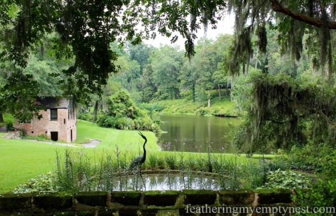 The Spring House and Mill Pond --Exploring The Enchanting Gardens Of Middleton Place