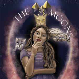 The 3 Moons Fantasy 8×10 Print
