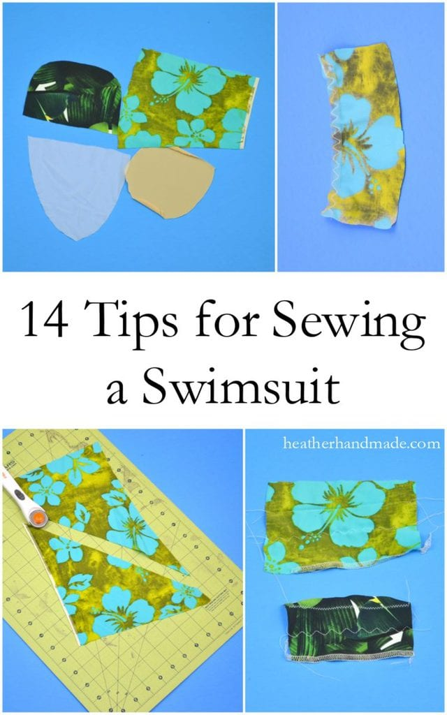 Tips to Sew Your Own Swimsuit