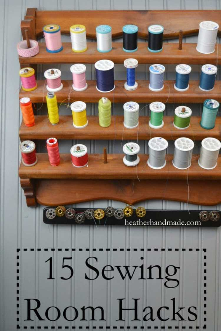 Sewing room hacks that are simple but genius