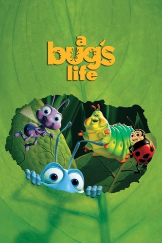 A Bug's Life 1998 movie poster