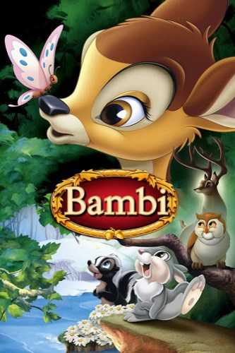 Bambi 1942 movie poster
