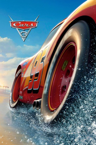 Cars 3 2017 movie poster