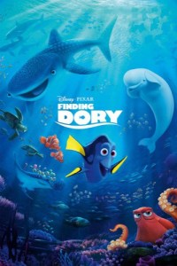 Finding Dory 2016 movie poster