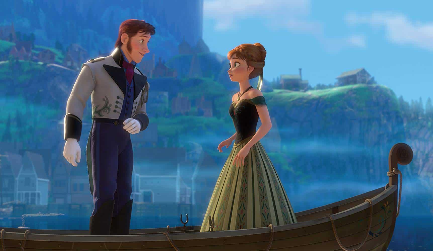 Frozen Hans and Anna