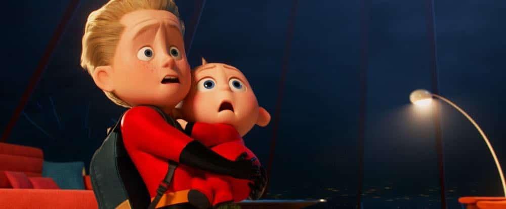 Incredibles 2 Jack Jack and older brother