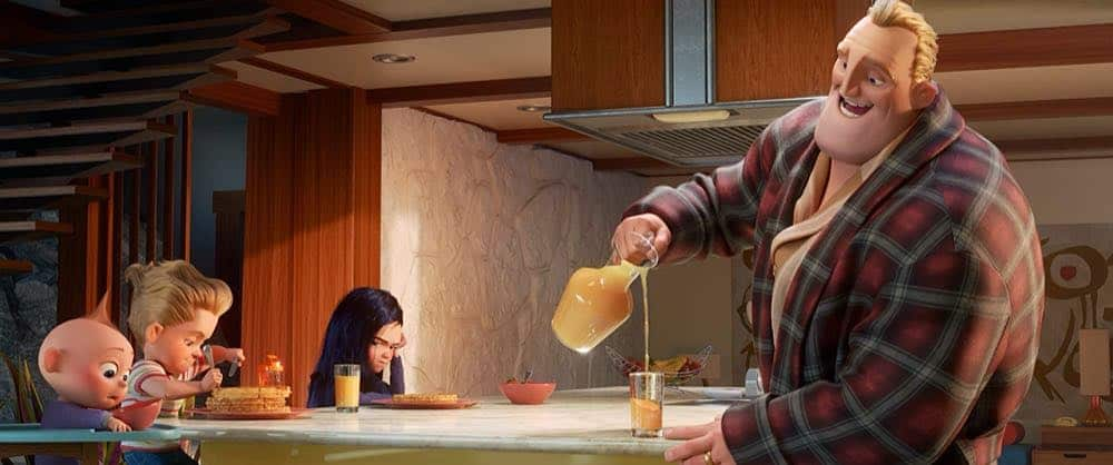 Incredibles 2 family breakfast
