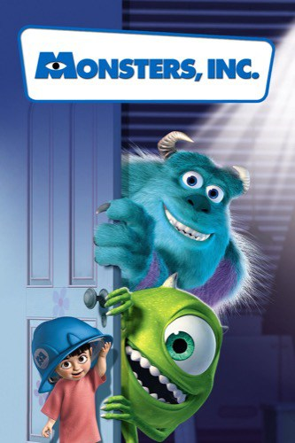 Monsters Inc 2001 movie poster