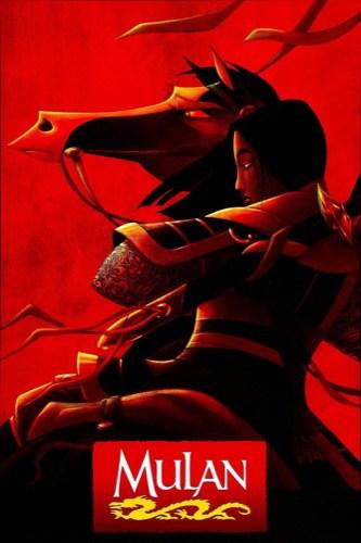 Mulan 1998 movie poster