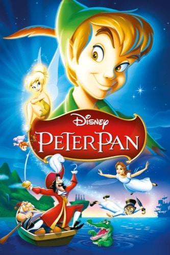 Peter Pan 1953 movie poster