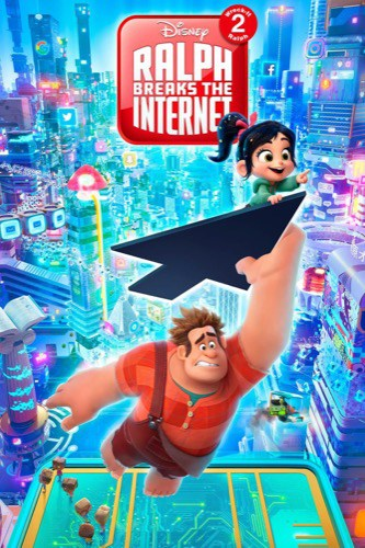 Ralph Breaks the Internet Wreck-It Ralph 2 2018 movie poster