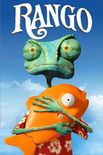 Rango 2011 movie poster