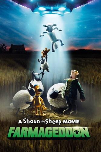 Shaun the Sheep Movie Farmageddon 2019 movie poster