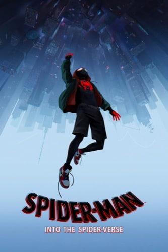 Spider-Man Into The Spider-Verse 2018 movie poster