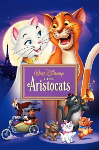 The Aristocats 1970 movie poster