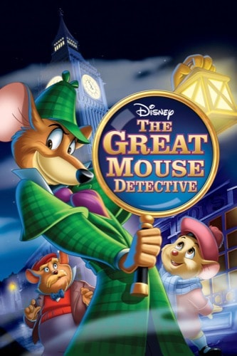 The Great Mouse Detective 1986 movie poster